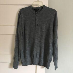 BR. Merino Henley Sweater